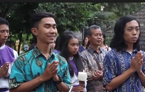Einwohner Indonesien