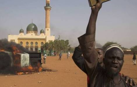 Auge de las sectas en África