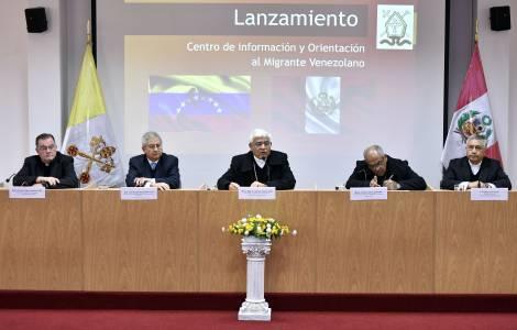 La Chiesa al servizio degli emigrati venezuelani in Perù, presto saranno mezzo milione