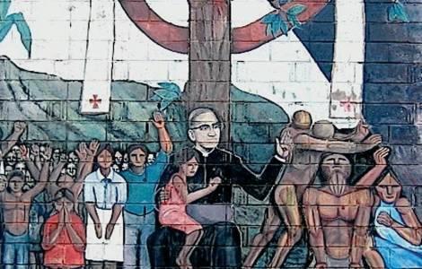 Caminando con San Romero para construir la paz: lo