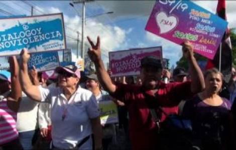 En todo el continente se ora por Nicaragua. La nac
