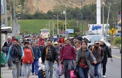 La desesperación de los migrantes venezolanos: las