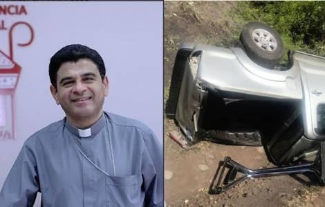 Evêque de Matagalpa indemne après un grave acciden