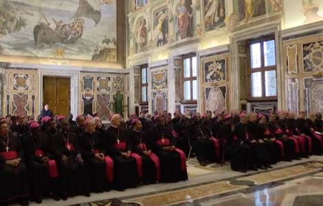 Il Papa ai Vescovi dei territori di Missione: il Vescovo è uomo di preghiera, uomo dell'annuncio e uomo di comunione