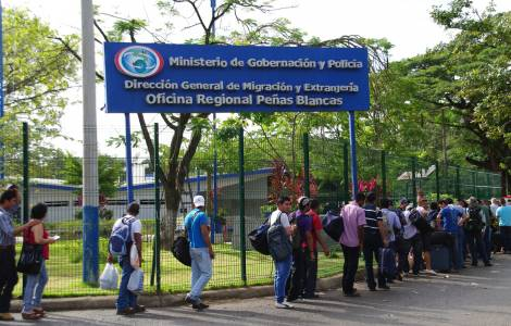Frontiera Nicaragua - Costa Rica