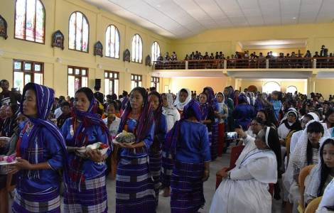 ASIA/INDIA - A remote diocese in the North East now has the