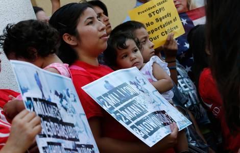 l'espulsione delle famiglie centroamericane