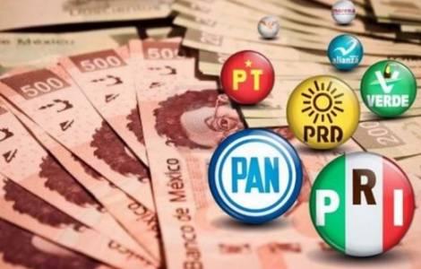 Mexique: financements aux partis politiques